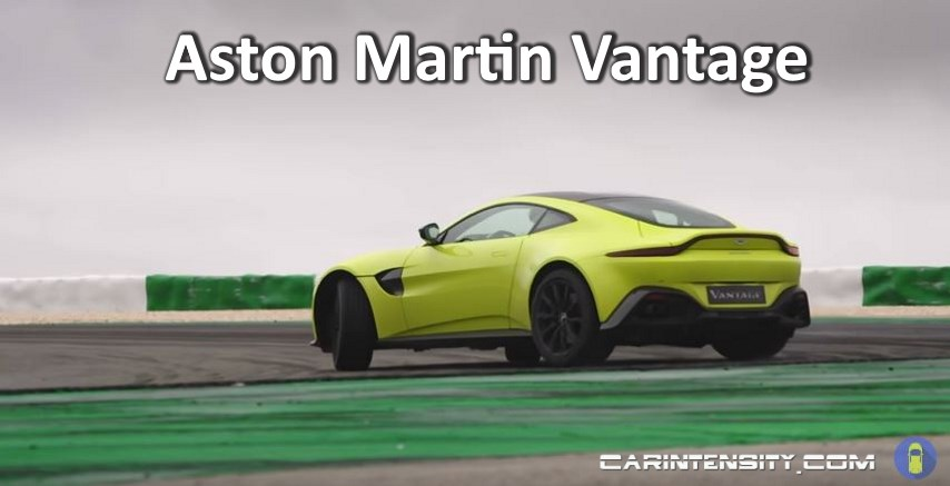 Flat Out Drive In The New Aston Martin Vantage