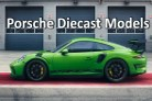 Porsche Diecast Model Cars