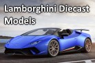 Lamborghini Diecast models