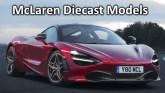 McLaren Diecast models