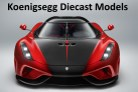 Koenigsegg Diecast Model Cars