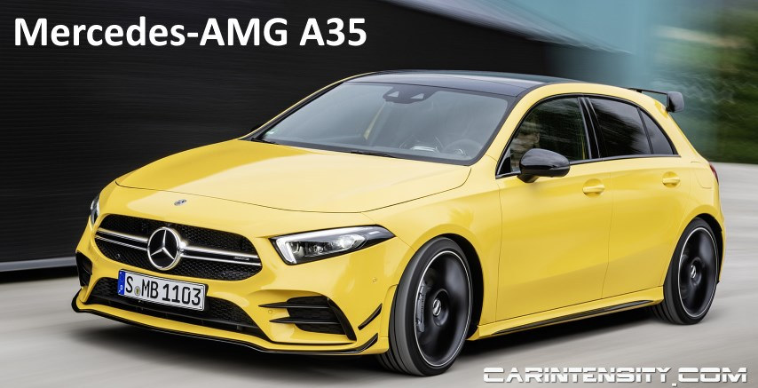 NEW AMG A35 Edition 1 First Look