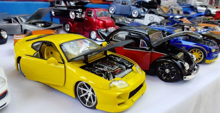 Model car collections