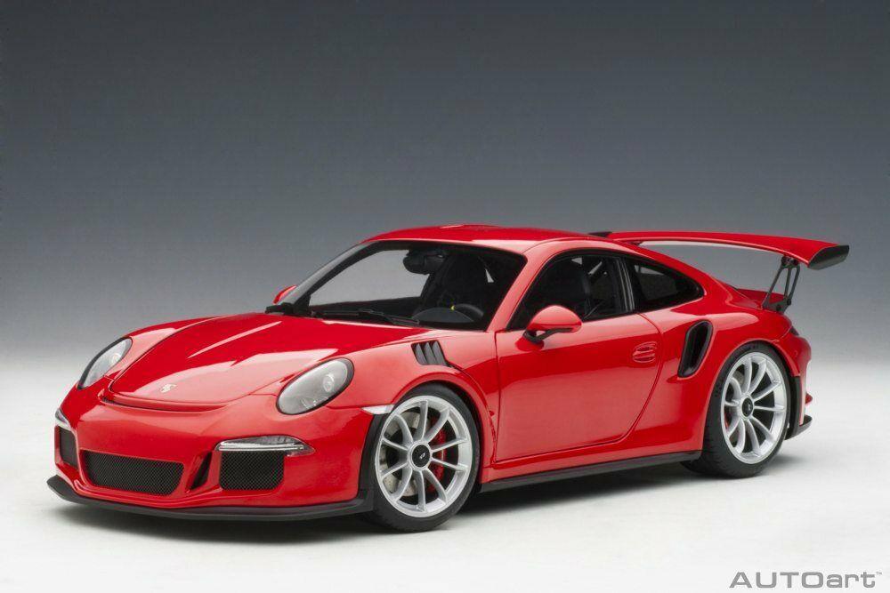 Porsche 911 GT3 diecast model car